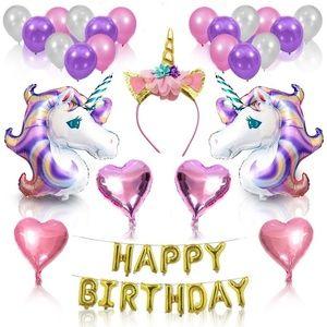 Other - Unicorn Party Supplies -Birthday Decorations,Birth